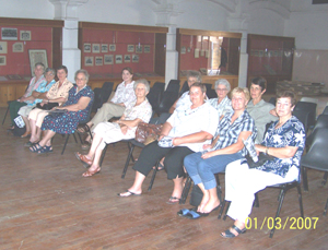The Meerkat Magic Conservation Project Educational Presentation audience - the ladies of VLV De Rust.</.