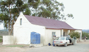 Lategansvlei SSKV Primary Farm School in Oudtshoorn, Western Cape in South Africa.