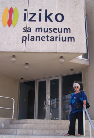 Estelle Mc Ilrath - The Art Teacherat at The IZIKO Museum, Cape Town, Western Cape, South Africa.