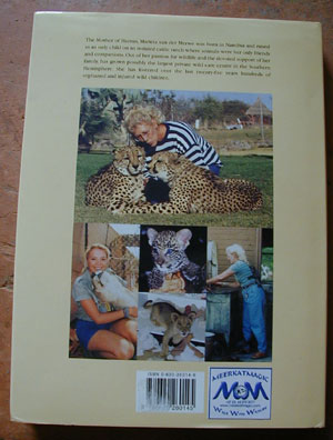 FOR THE LOVE OF WILDLIFE by Chris Mercer and Beverley Pervan - Back of Book